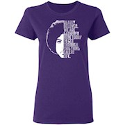 Prince Dearly Beloved Ladies' T-Shirt