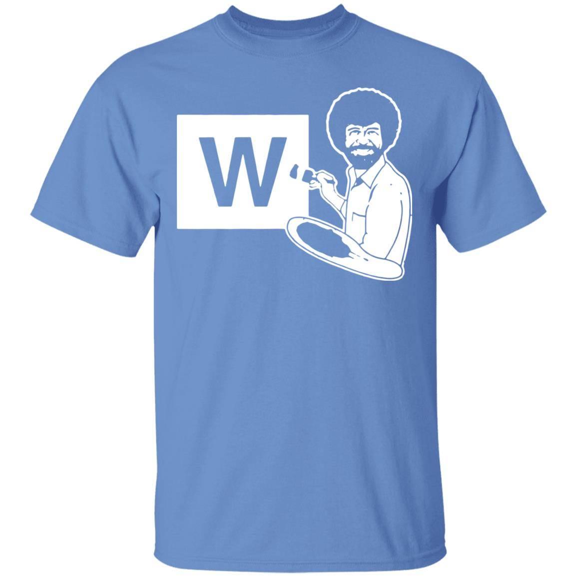 Chicago Cubs Bob Ross Paint The W T-Shirt